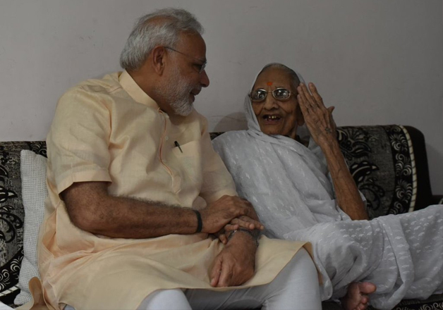 On his 66th birthday, PM Modi seeks mother's blessings