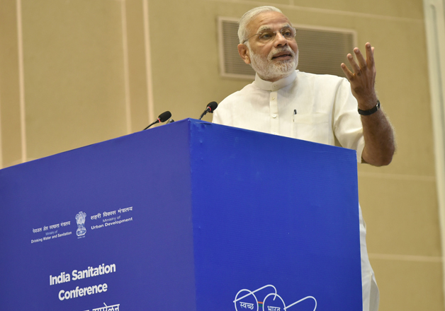 PM Narendra Modi inaugurates India Sanitation conference in
