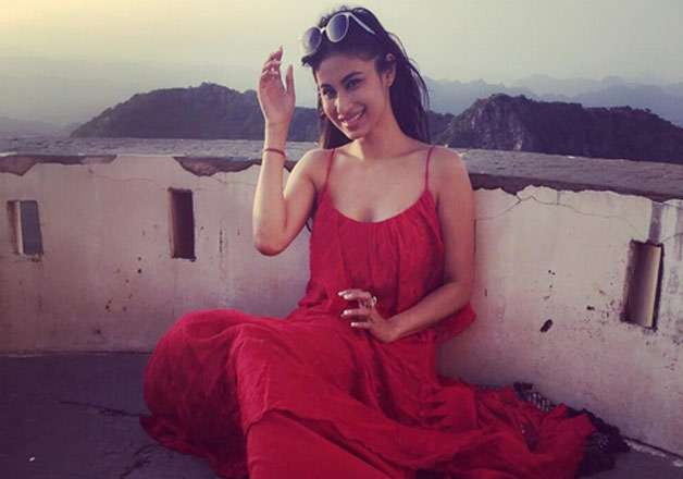 Naagin actress Mouni Roy Udaipur holiday pics