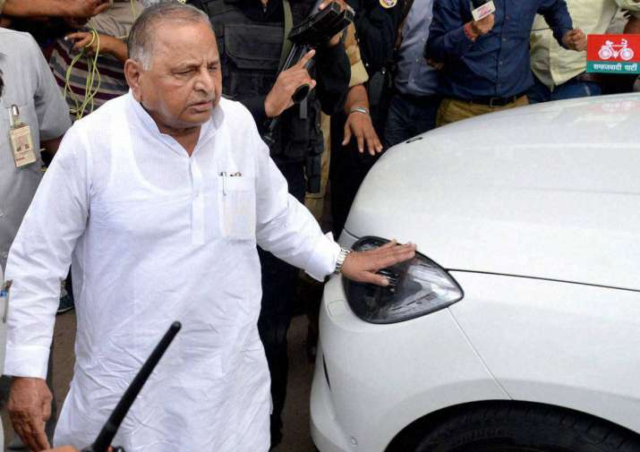 Samajwadi Party supremeo Mulayam Singh Yadav