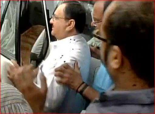 JP Nadda at AIIMS Bhopal