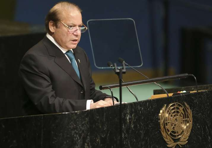 Pakistan Prime Minister Nawaz Sharif at UNGA