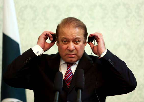 PM Nawaz Sharif today spent a hectic day reviewing