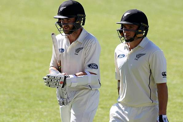 Kiwis on front foot as Latham, William smash fifties