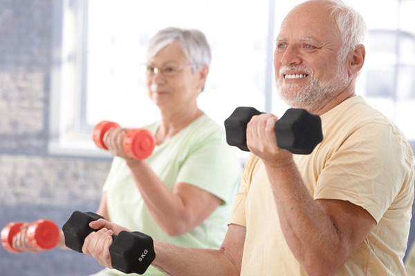 Moderate physical activity in old age may enhance cognition