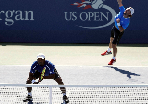 Leander Paes and Andre Begemann