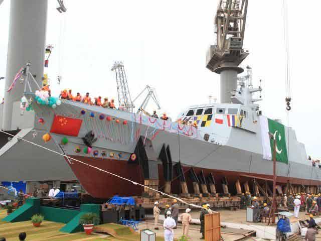 Pakistan Navy's fast-attack craft PNS Dehshat