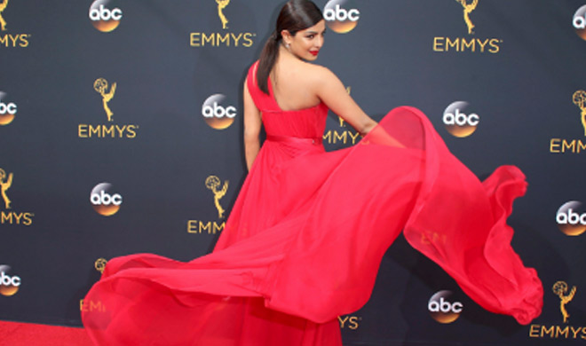 India Tv - Priyanka at Emmys