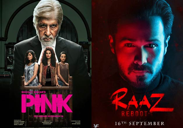 Know how 'Pink' and 'Raaz Reboot' fared on first day