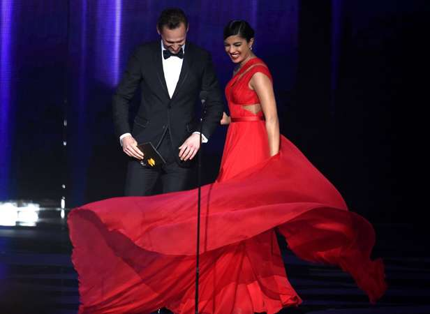 India Tv - Priyanka reveals why she 'twirled' so much at Emmys!
