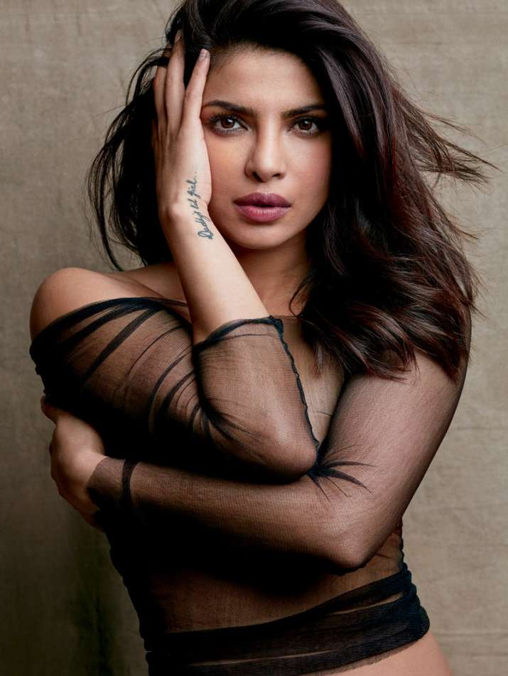 India Tv - Priyanka Chopra sizzles on magazine cover, leaves little to imagination