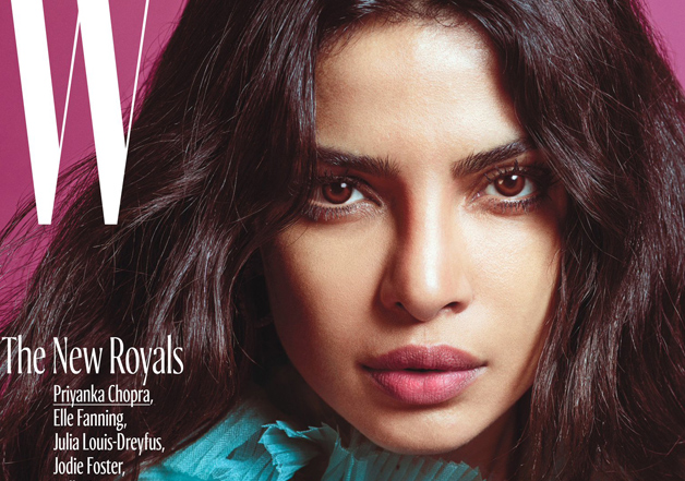 Priyanka Chopra on the cover of W magazine