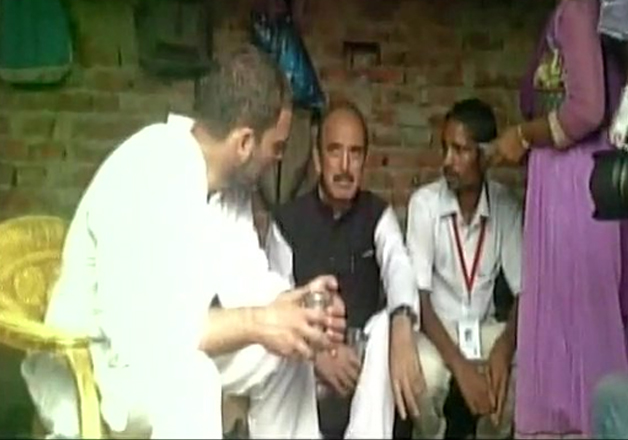 UP Dalit family borrowed food for Rahul's Sunday meal