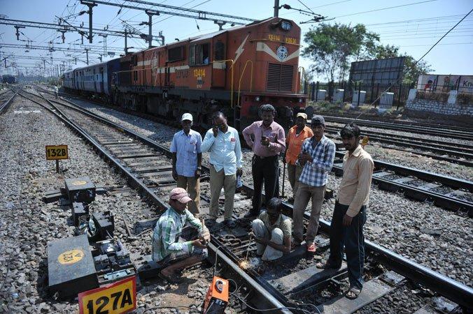 Railways employees