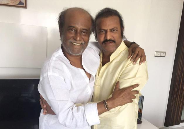 Rajinikanth and Mohan Babu