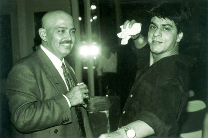 India Tv - Rakesh Roshan with SRK