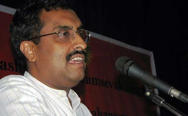 Ram Madhav | India TV