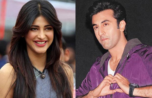Is Ranbir Kapoor dating Shruti Hassan ? Buzz says yes