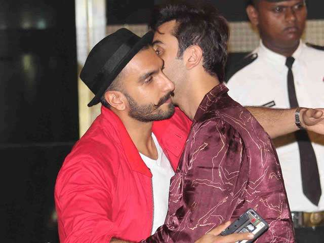 Ranveer pulls a surprise act for Ranbir on the latter's