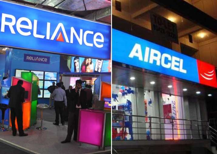 Reliance Communications and Aircel announced their merger