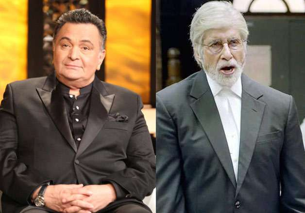 Veteran actor Rishi Kapoor is all praises for Amitabh