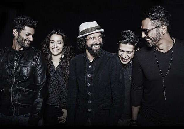 Shraddha Kapoor and her Magik band look high on energy in