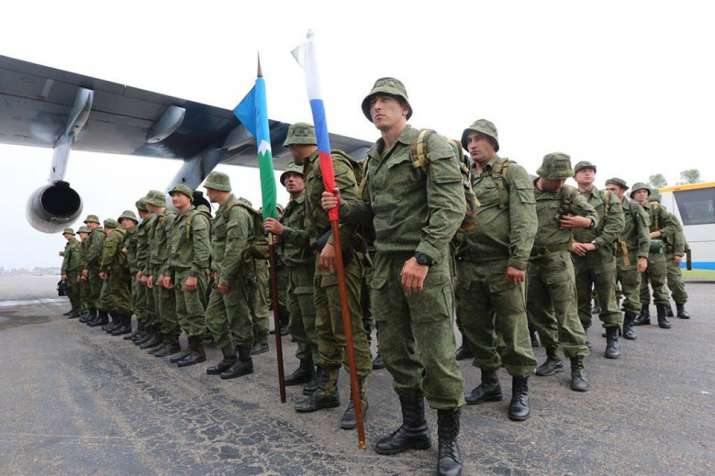 Russian forces arrive in Pakistan for first-ever joint