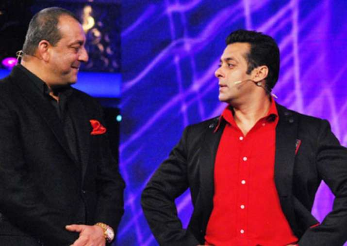 India Tv - Sanjay, Salman and their meet: Will the two stars feature on a show together?