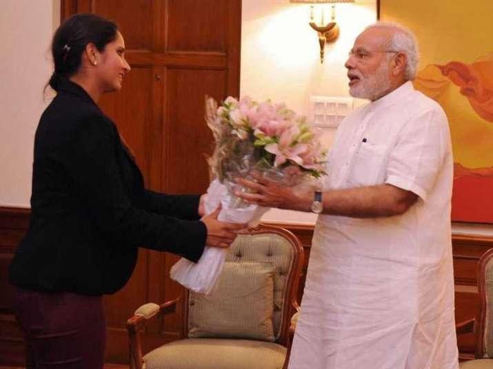 Sania Mirza wished PM Modi on his birthday