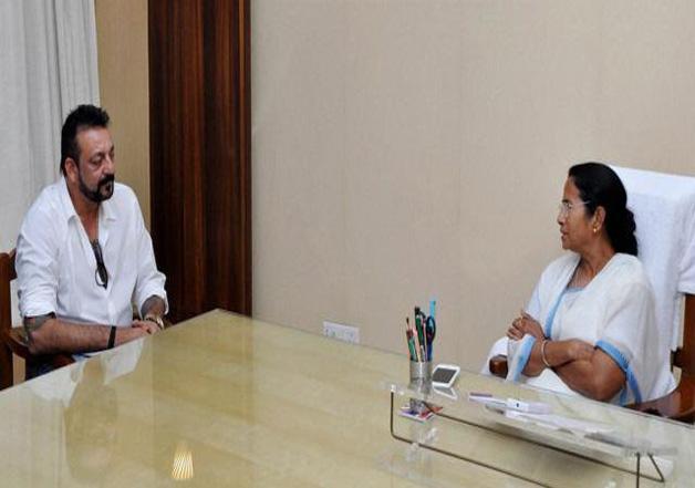Sanjay Dutt pays courtesy visit to Mamata Banerjee
