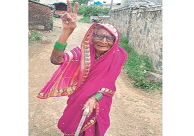 94-year-old Gangubai Nivrutti Bhambure elected Sarpanch