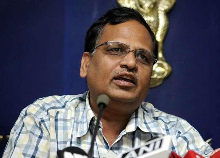 Delhi's Health Minister Satyendar Jain
