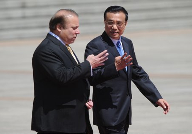 Nawaz Sharif and Li Keqiang