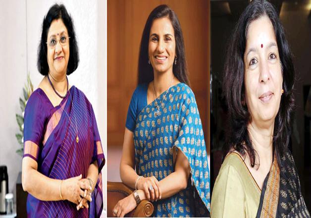 Arundhati Bhattacharya, Chanda Kochhar , Shikha Sharma