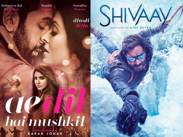 Shivaay vs Ae Dil Hai Mushkil may become nastiest Bollywood
