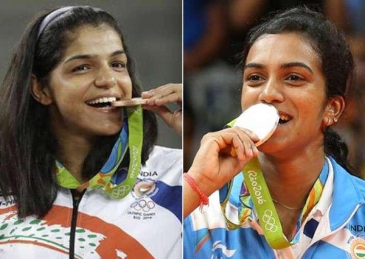 Rio Olympics medallists PV Sindhu, Sakshi Malik likely to