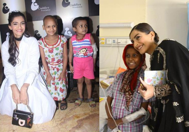 Sonam Kapoor volunteers to look after 10 children fighting