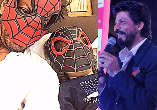 Watch SRK giving papad lessons and doing Spiderman action