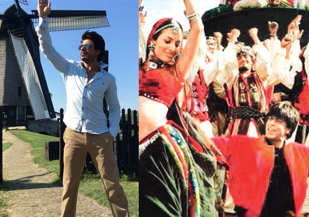 Watch: Shah Rukh Khan teaching to do 'Chaiyya Chaiyya'