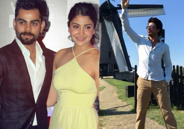 For Anushka's beau Virat, SRK donned the hat of a perfect
