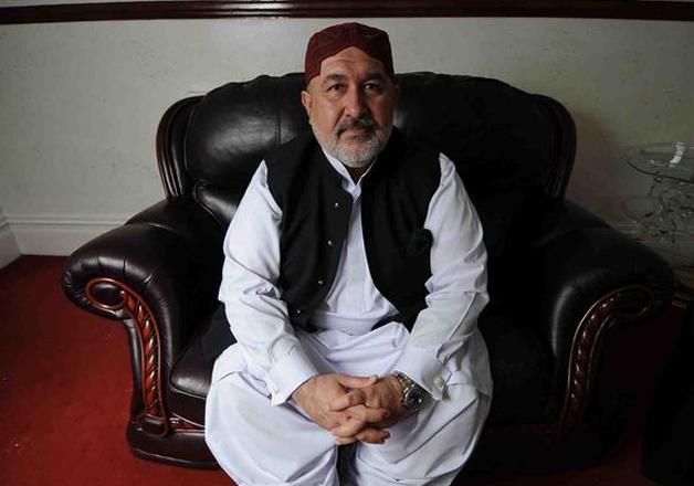 Baloch leader Ahmed Suleman Daud