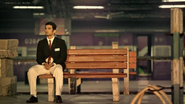 India Tv - Sushant Singh Rajput in a still from the biopic