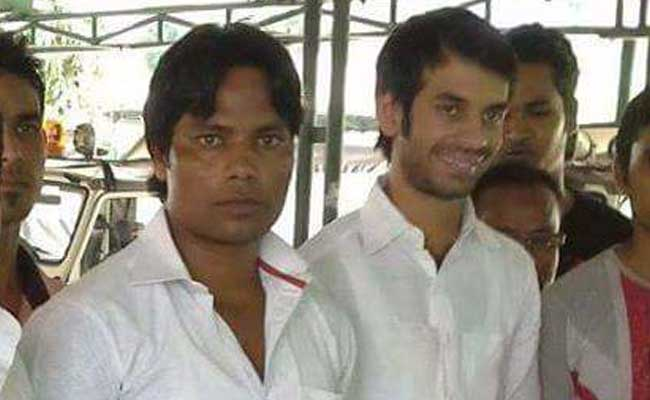 India Tv - Tej Pratap with wanted sharpshooter Mohammad Javed