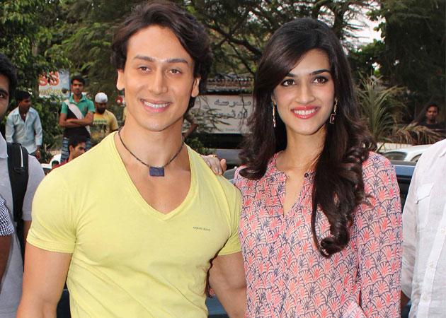 'Heropanti' couple Kriti Sanon-Tiger Shroff teams for