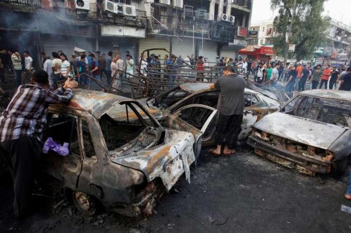 Triple suicide attack rocks north Baghdad | India TV