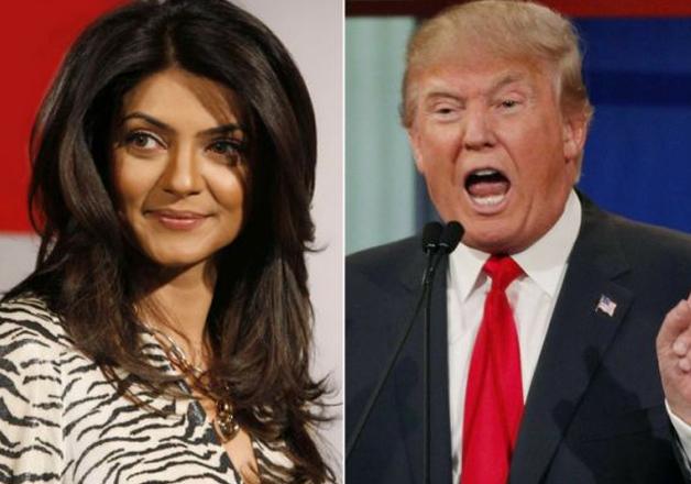 Sushmita Sen slammed Donald Trump