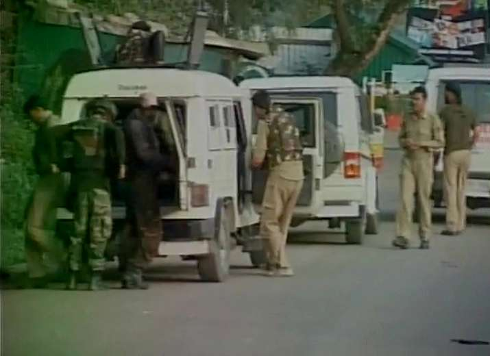 India Tv - Visuals from attack at Uri Army camp