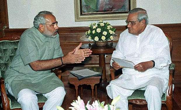 Atal Bihari Vajpayee and PM Modi | India TV