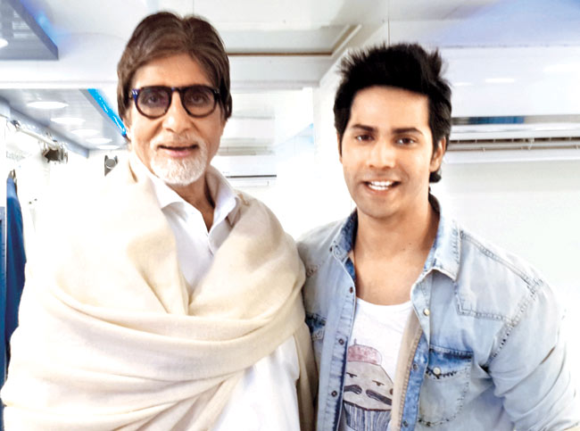 Varun Dhawan clears the airs on working with Amitabh