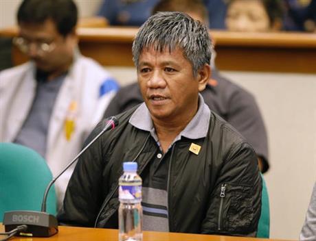 Former Filipino militiaman Edgar Matobato
